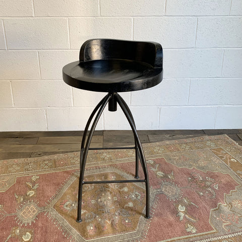Kelsie Counter Stool - Black