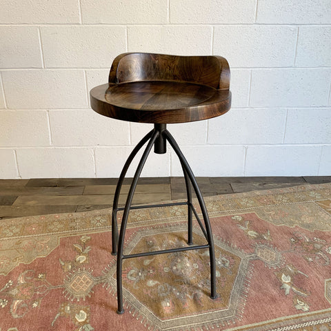 Kelsie Counter Stool - Brown