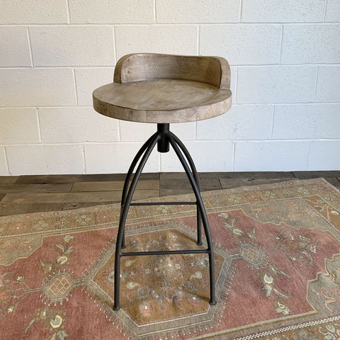 Kelsie Counter Stool - Sand Blast Brown