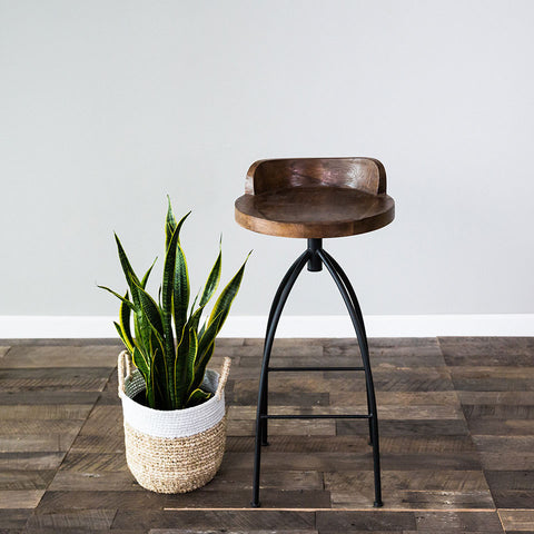 Kelsie Bar Stool - Chocolate