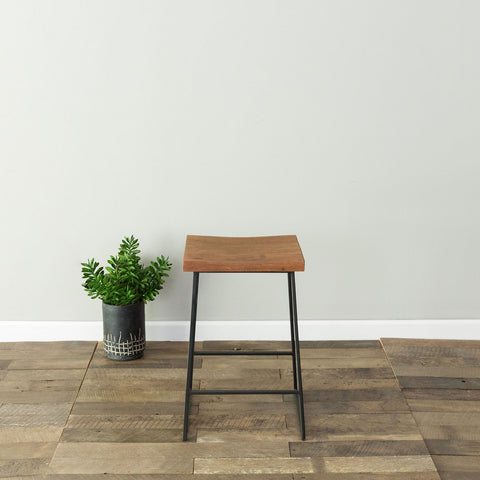 Logan Counter Stool- Chestnut