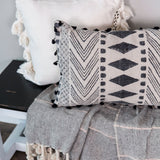 Maxwell Block Print Pillow