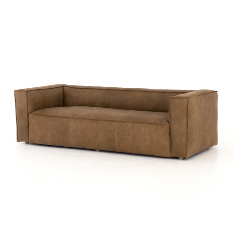 Murrells Leather Sofa