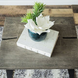 Nature Line Side Table - Grey