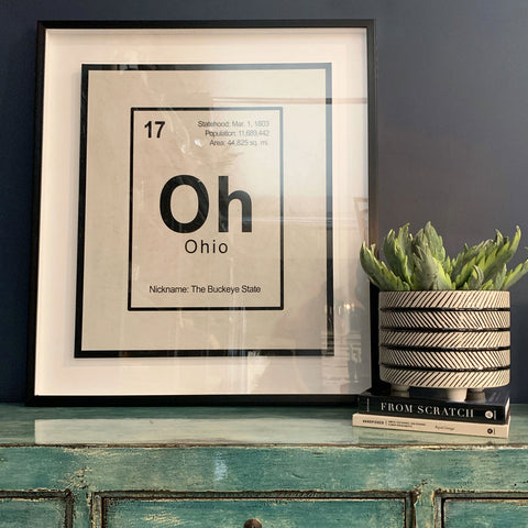 Ohio Framed Print