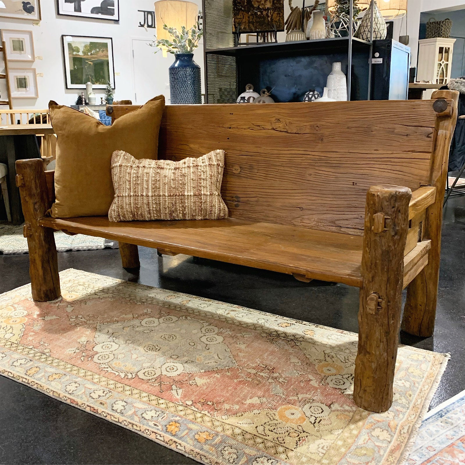 Rio Reclaimed Wood Bench