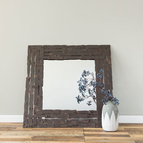 Rylan Iron Mirror