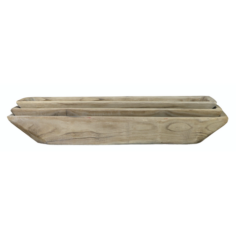 Square Dough Tray - Antique White