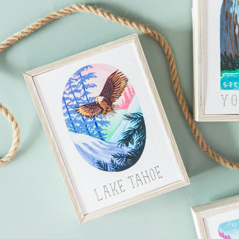 National Parks Mini Print- Lake Tahoe