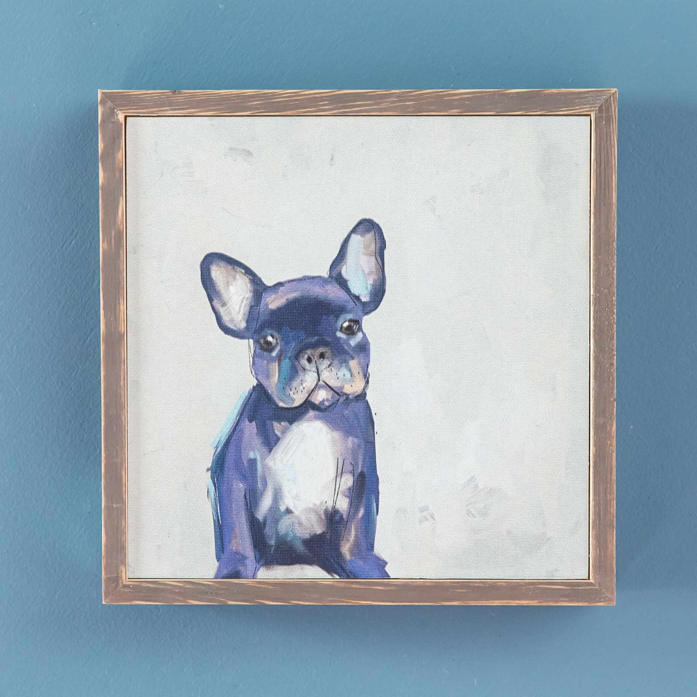 Frenchie Mini Framed Canvas