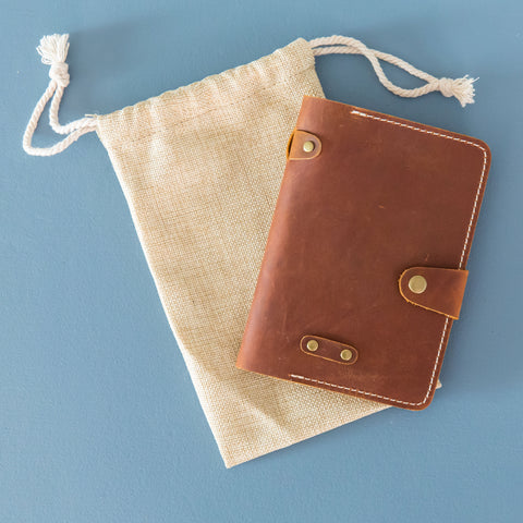 The Wanderer Field Notes & Passport Cover- Whiskey