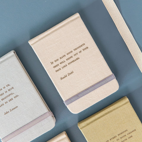 Canvas Wrapped Notebook- Roald Dahl