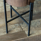 Bryce Accent Table- Small Chestnut