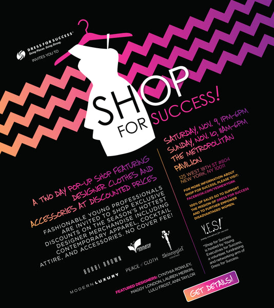 Shop for Success Flyer