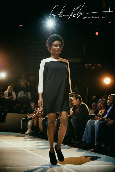 Of Mercer at Charlotte Style Week | Stanton Dress on the Runway