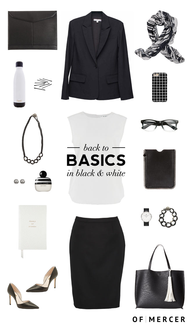 Back To Basics | Of Mercer Separates Collection | Of Mercer Blog | Main Image