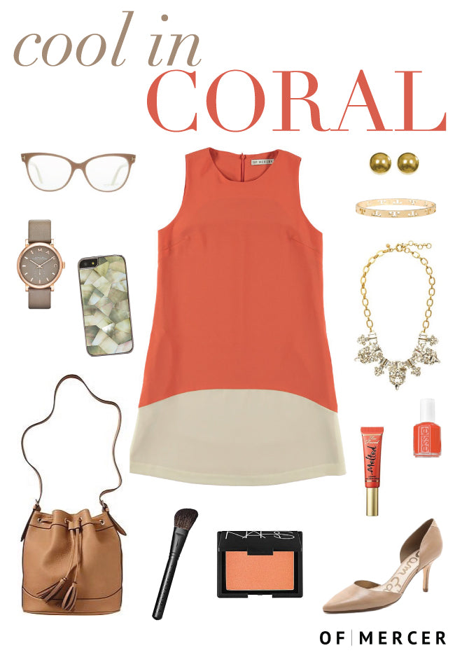 Of Mercer Cool in Coral Blog Post