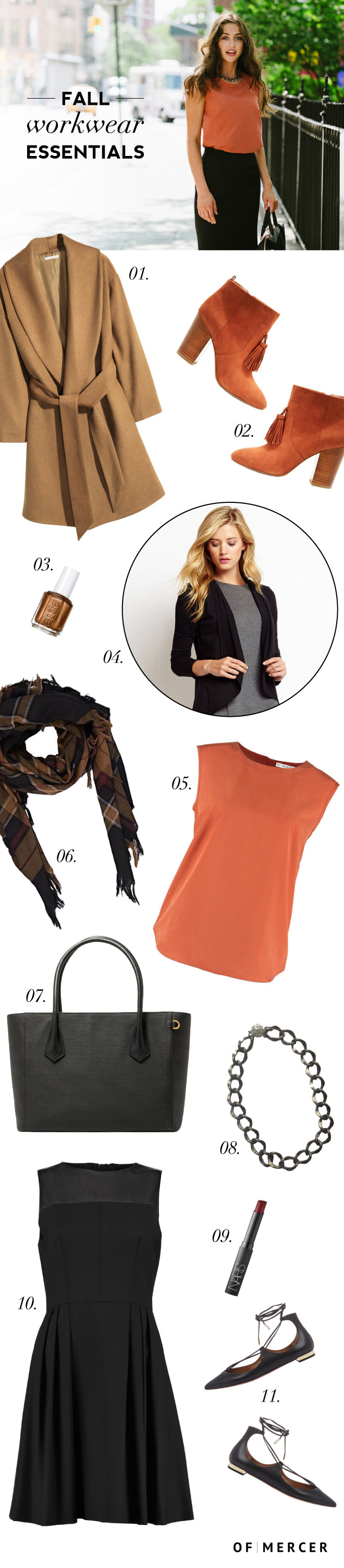 Fall Fashion Essentials - Of Mercer Blog - Main Image