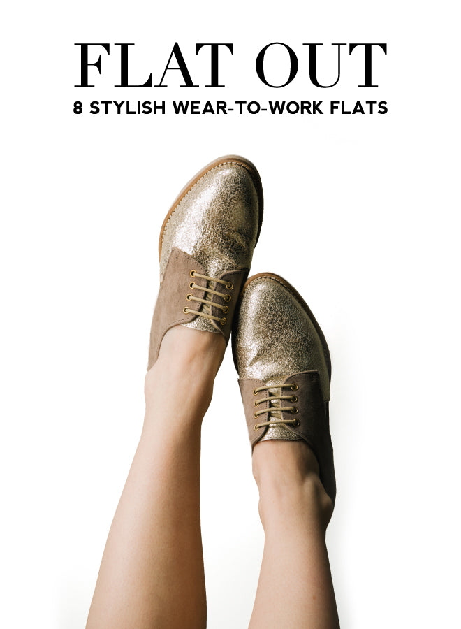 Stylish Work Flats | Of Mercer Blog