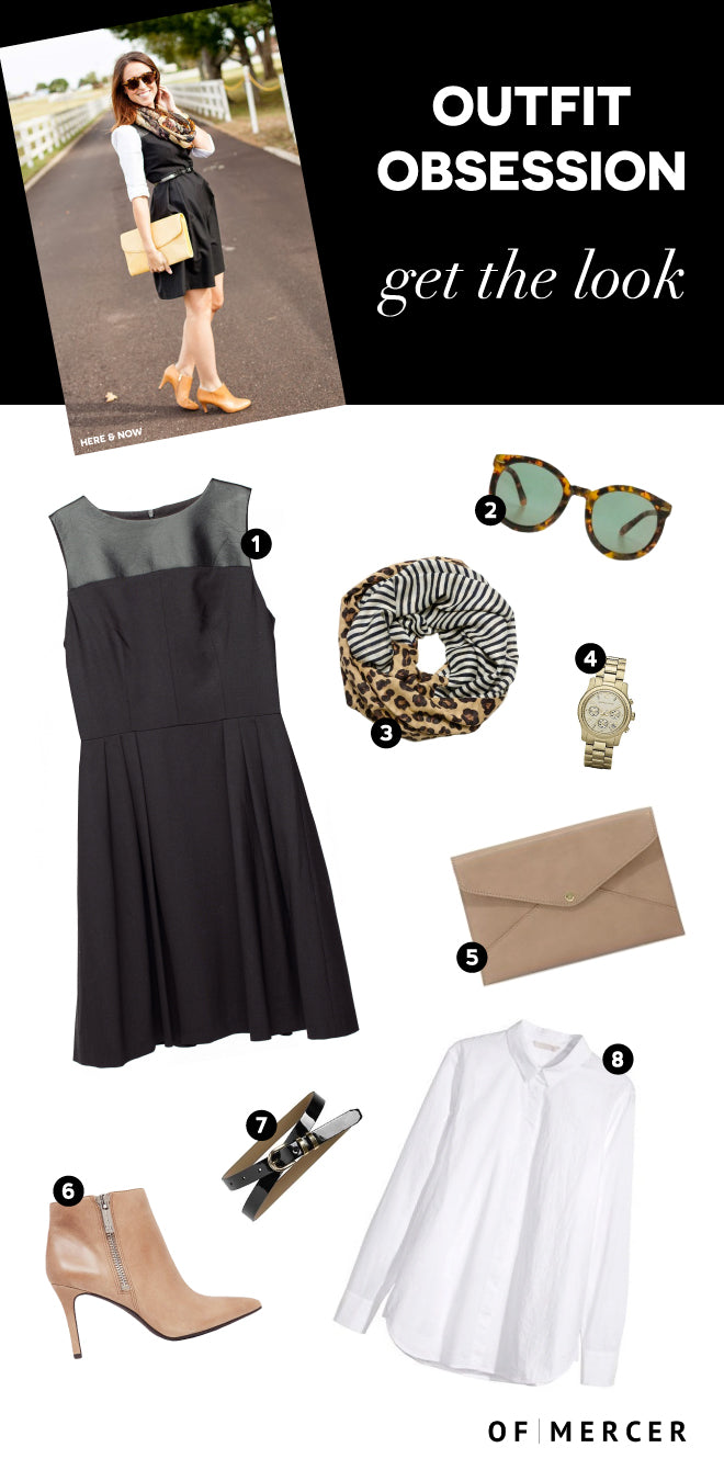 Outfit Obsession Ludlow Leather Paneled Dress Of Mercer Blog