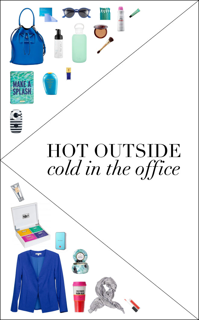 Hot Outside Cold In The Office | Of Mercer Blog Post | Detailed View
