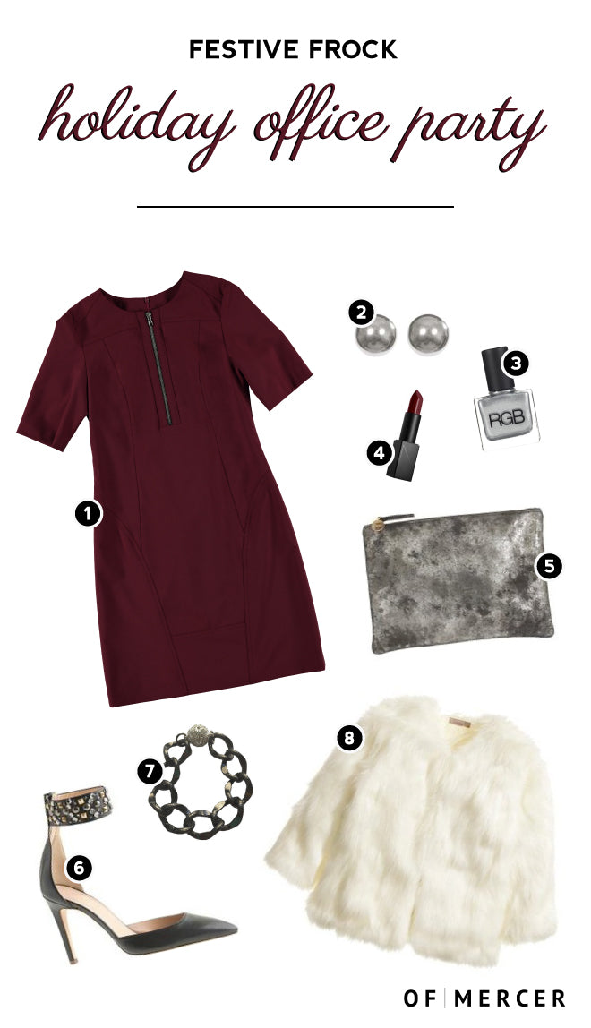 Holiday Dressing: What to Wear for an Office Party