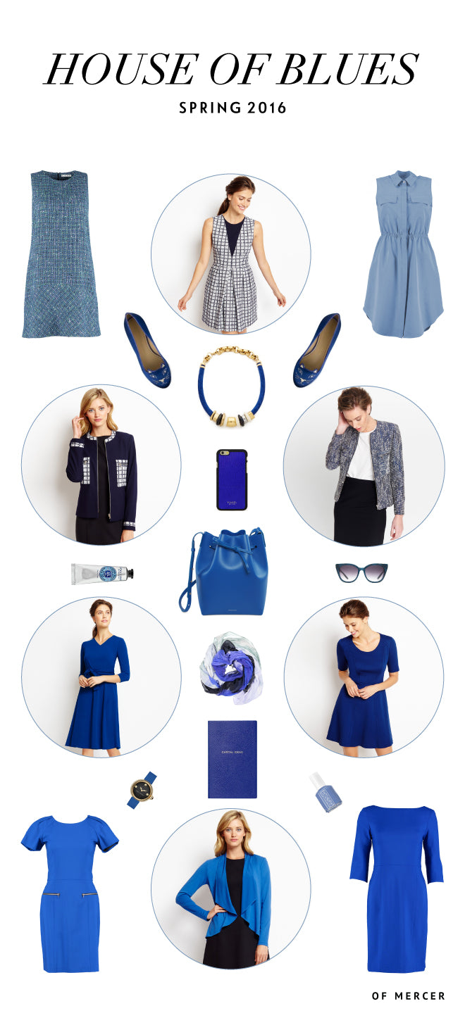 House of Blue | Spring Forward In Fashion | Of Mercer Blog