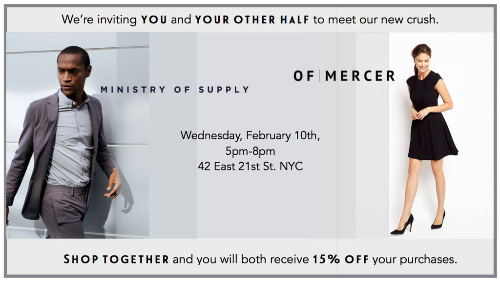Of Mercer x Ministry of Supply