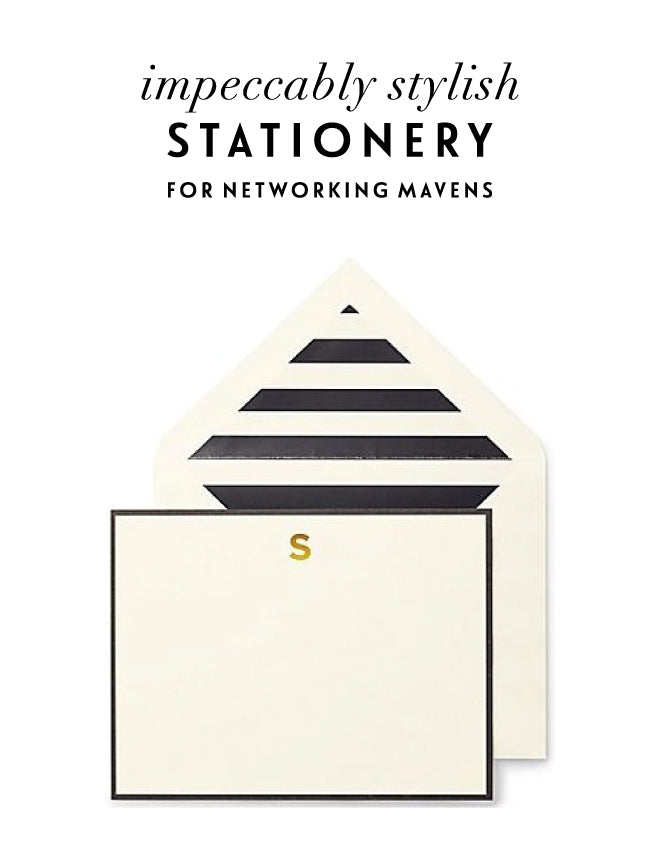 Professional Stationary | Of Mercer Blog