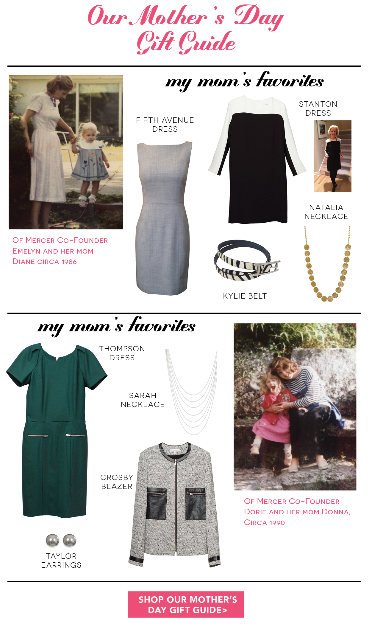 Of Mercer Mother's Day Gift Guide