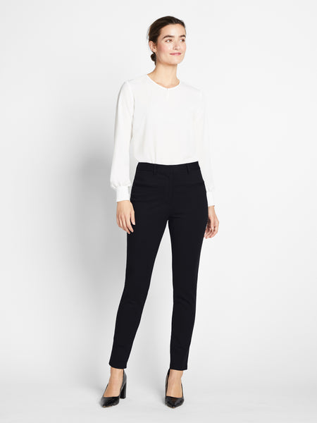 Black Essex Skinny Pant