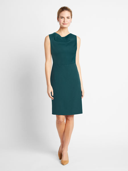 Teal Gramercy Dress