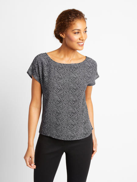 Black Lawrence Top