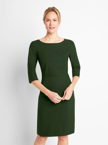 Army Green Madison Dress V2
