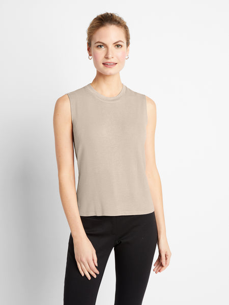 Oatmeal Windsor Top