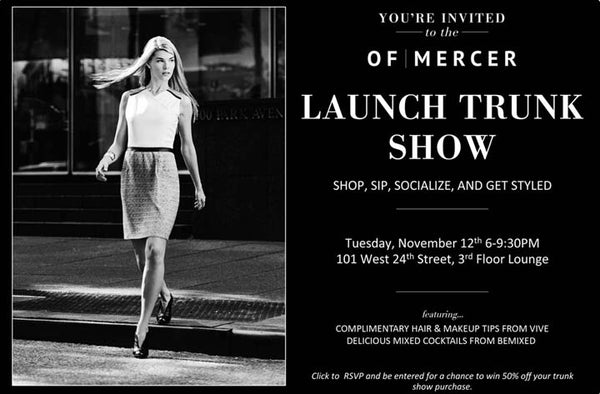 Launch Trunk Show Flyer
