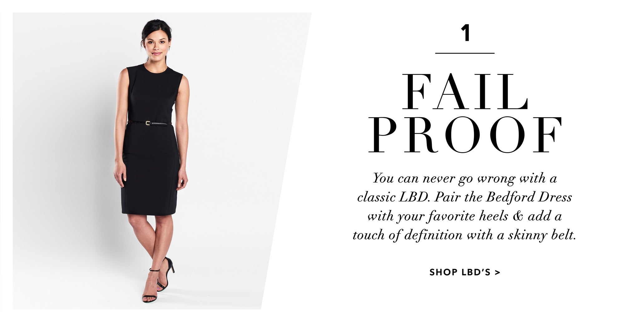 LBD Lookbook | Fail Proof