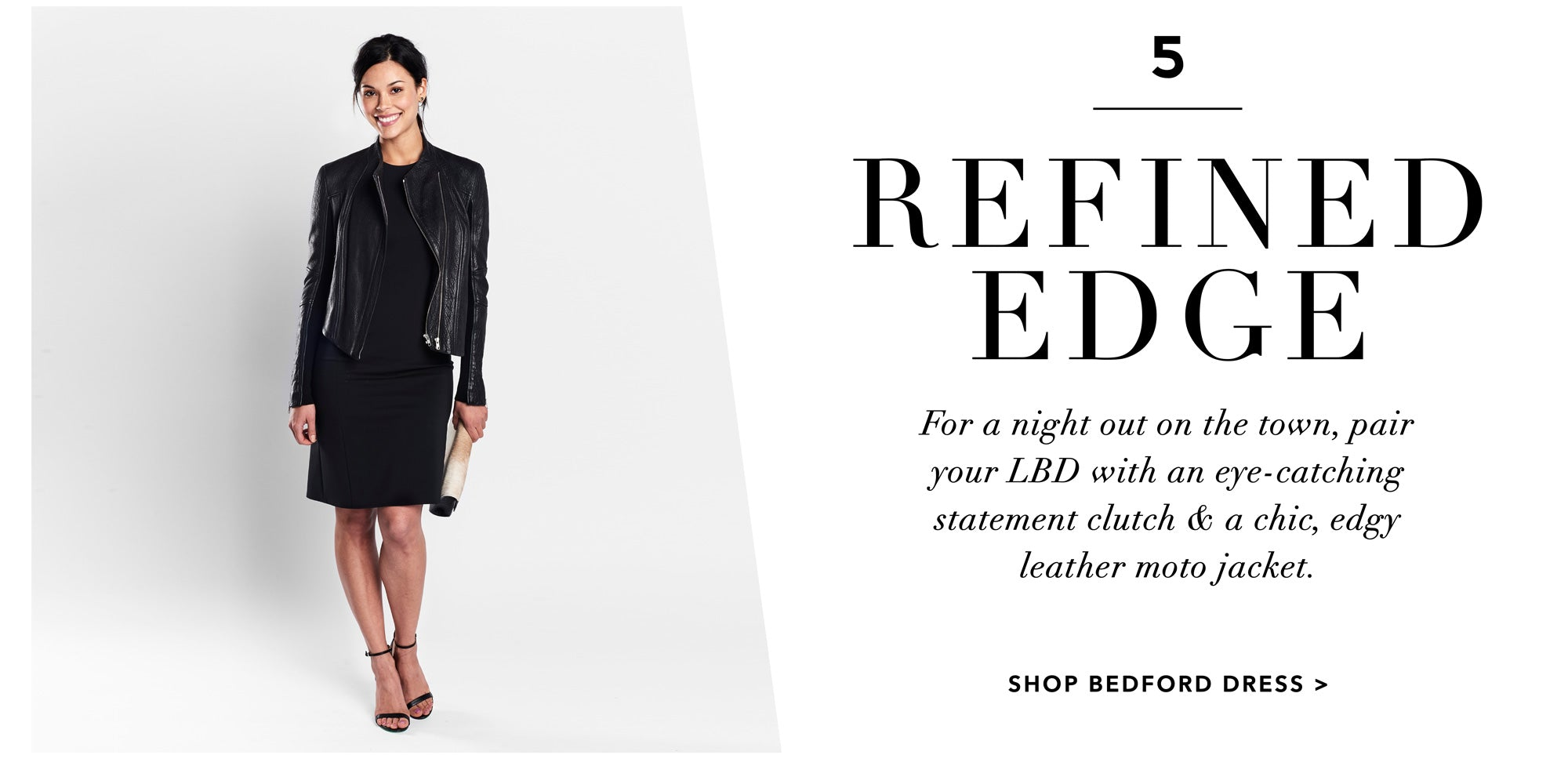 LBD Lookbook | Refined Edge