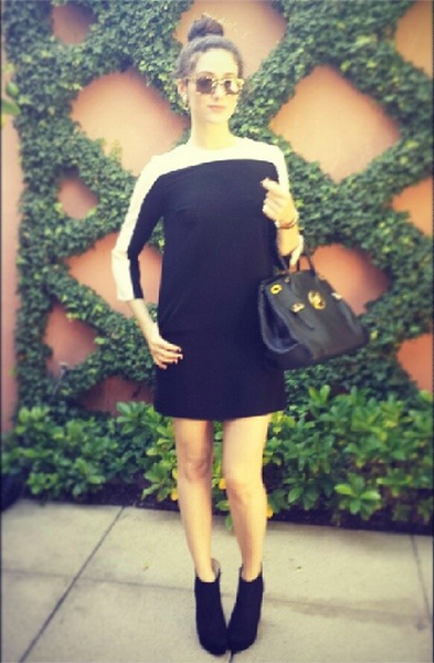 Emmy Rossum in The Stanton Dress
