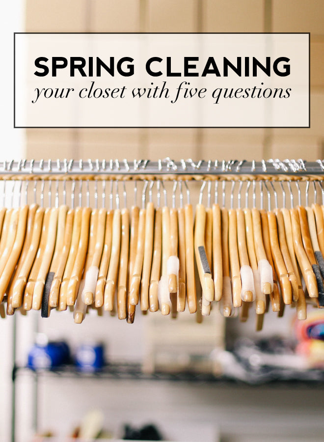 Give Your Closet A Spring Cleaning - Of Mercer Blog