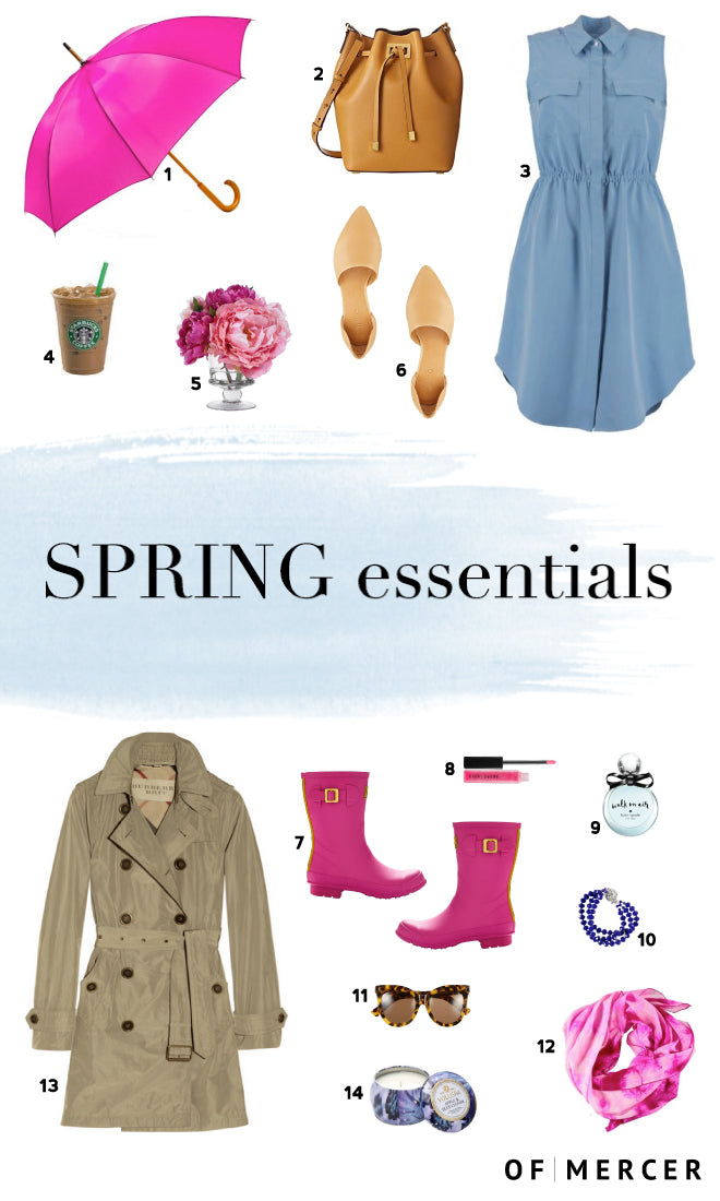 spring essentials 2015 | Of Mercer Blog | Product Details