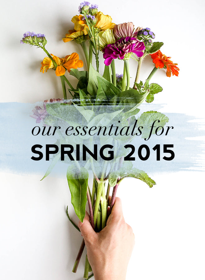 spring essentials 2015 | Of Mercer Blog | Title Image