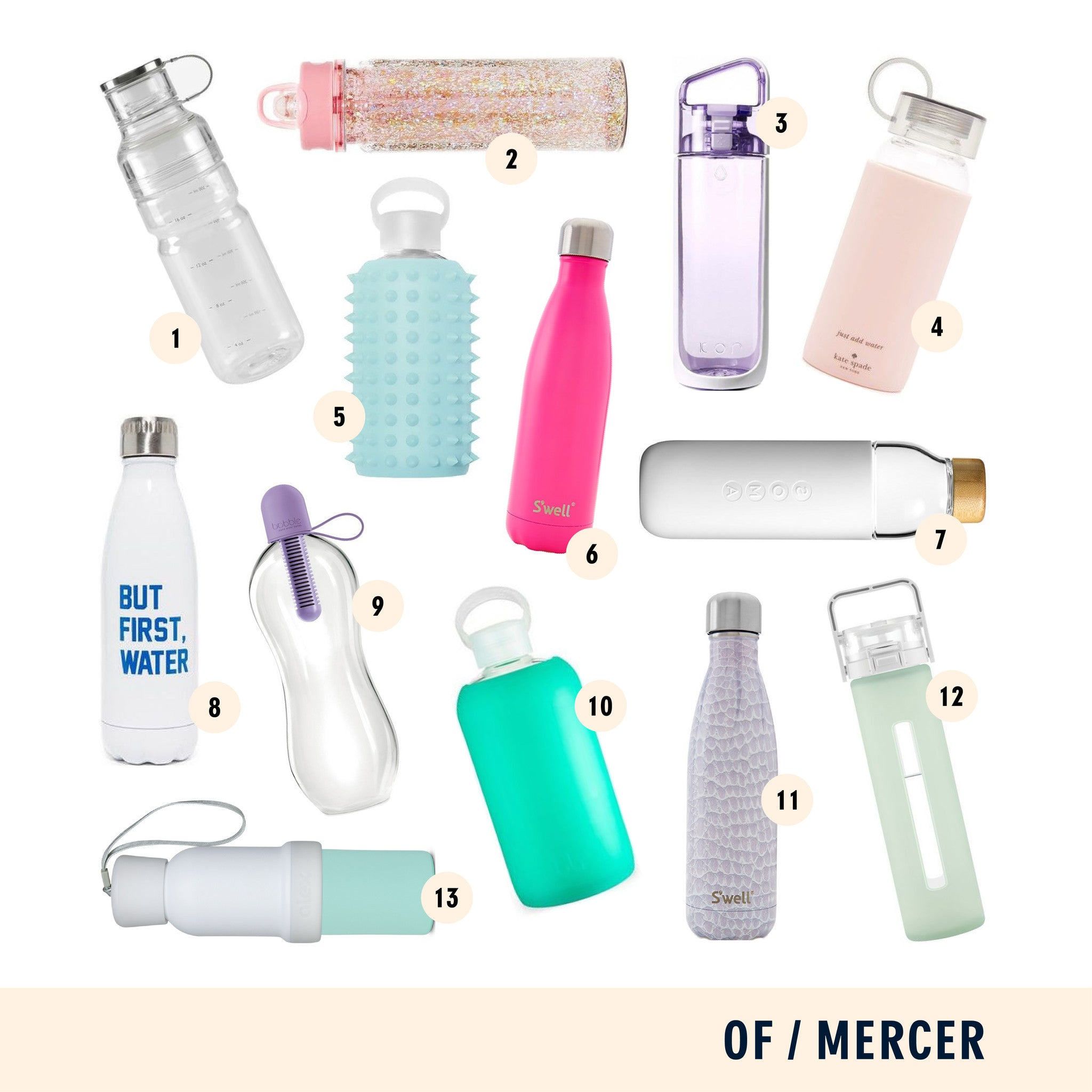 Of Mercer Blog | Stylish Water Bottles