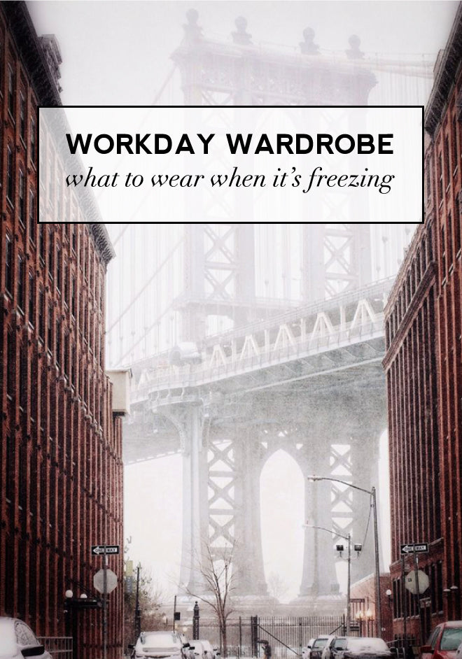 What To Wear To Work When It's Freezing | Of Mercer Blog