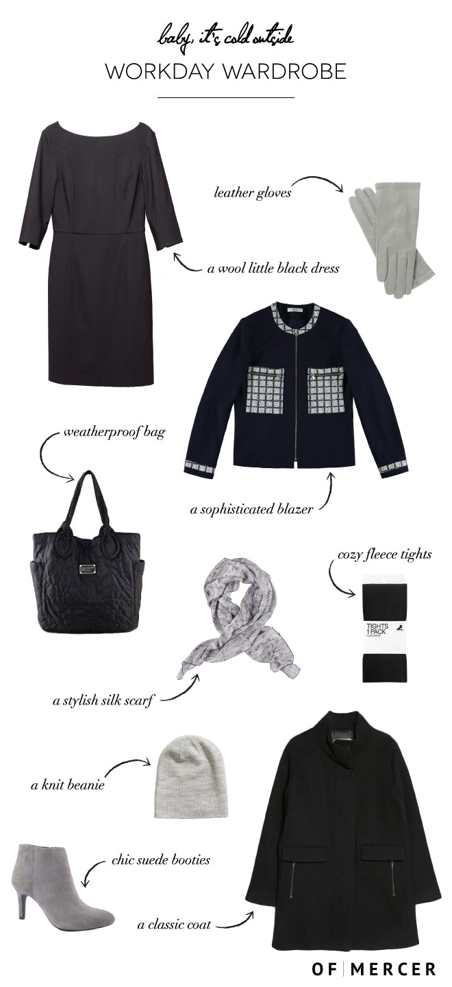 What To Wear To Work When It's Freezing | Of Mercer Blog | Detailed Image