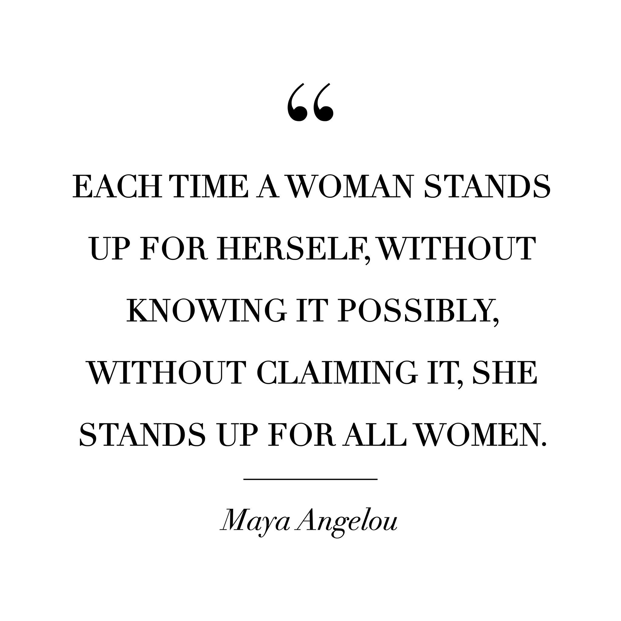 Quotes Women 8 Empowering Quotes  Of Mercer
