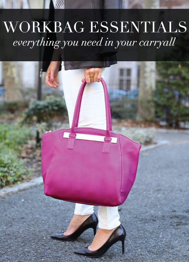 Of Mercer Blog Workbag Essentials