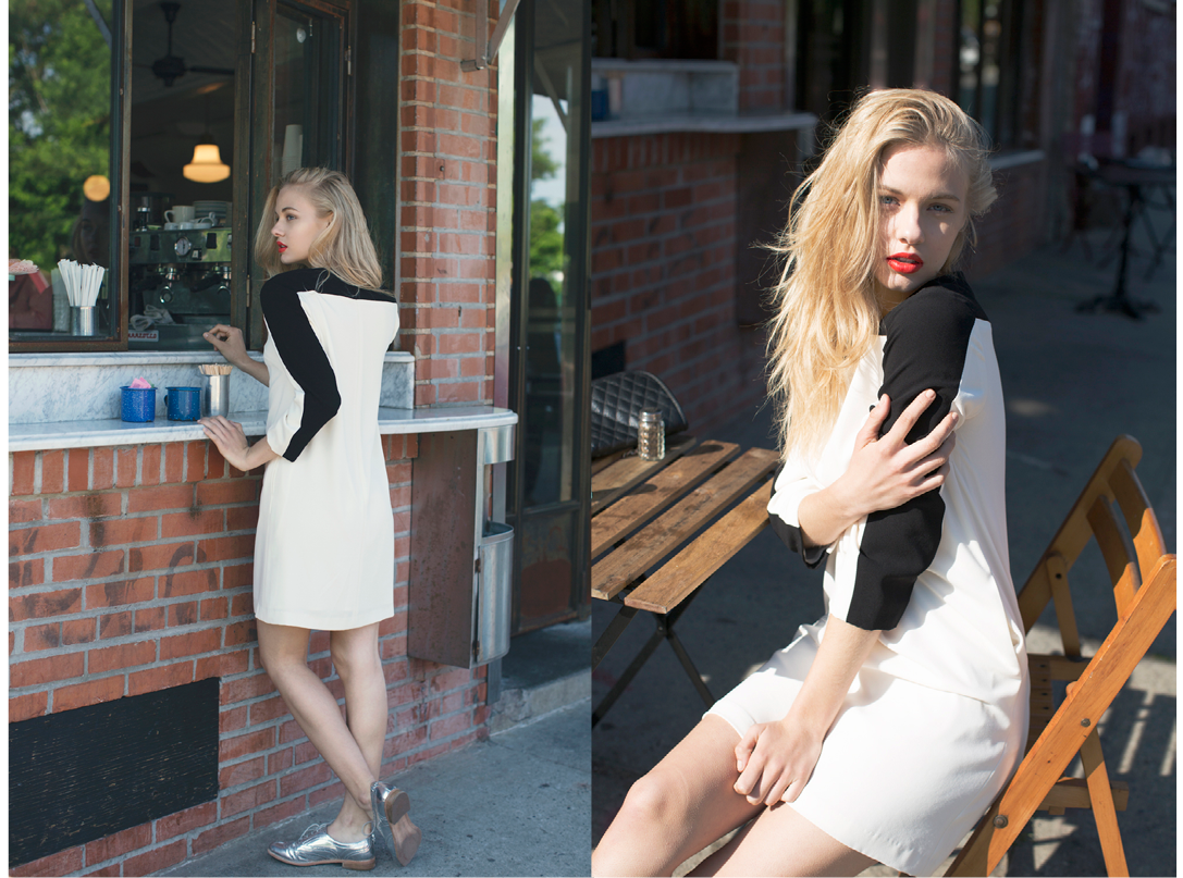 Of Mercer Summer Lookbook - Stanton Dress in Cream