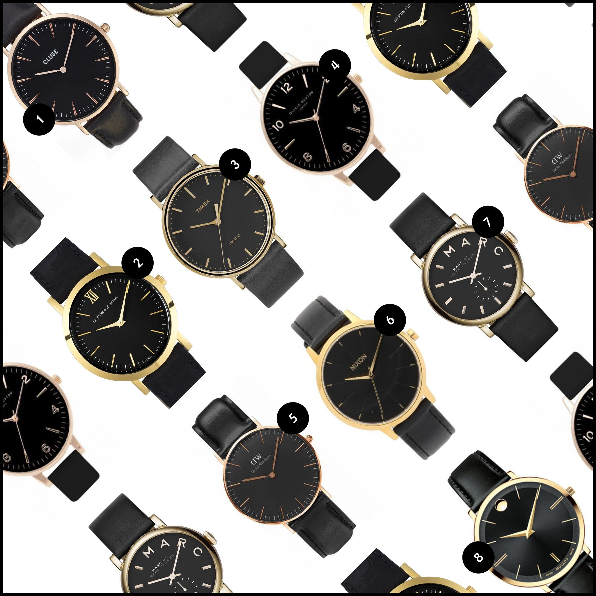 Black and Gold Watches | Of Mercer Blog
