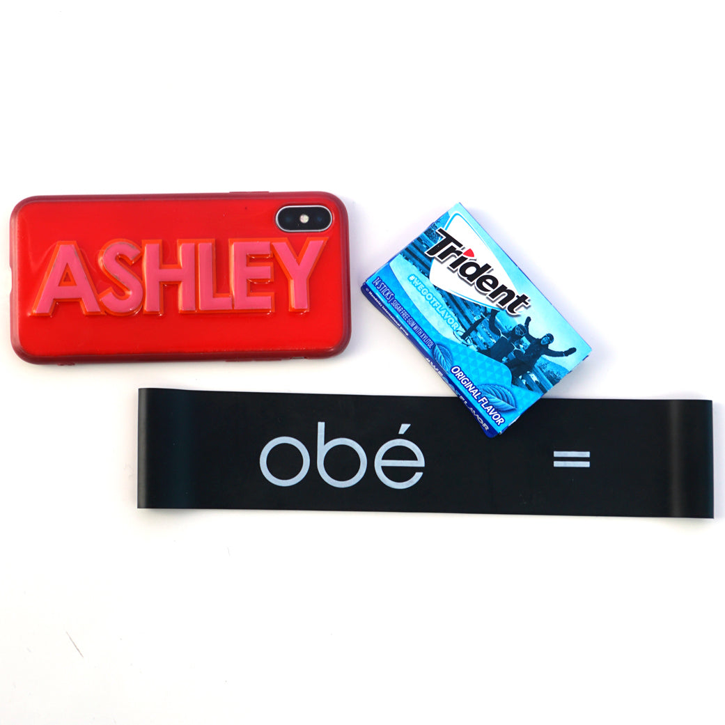 iPhone, Trident gum, Obé Resistance Loop